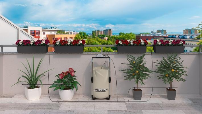 Orto sul terrazzo: i sistemi di irrigazione