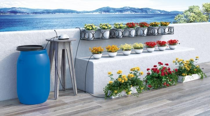 Ortensie Sul Balcone : Orto sul terrazzo i sistemi di irrigazione