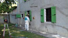 Consolidamento fondazioni con resine espandenti