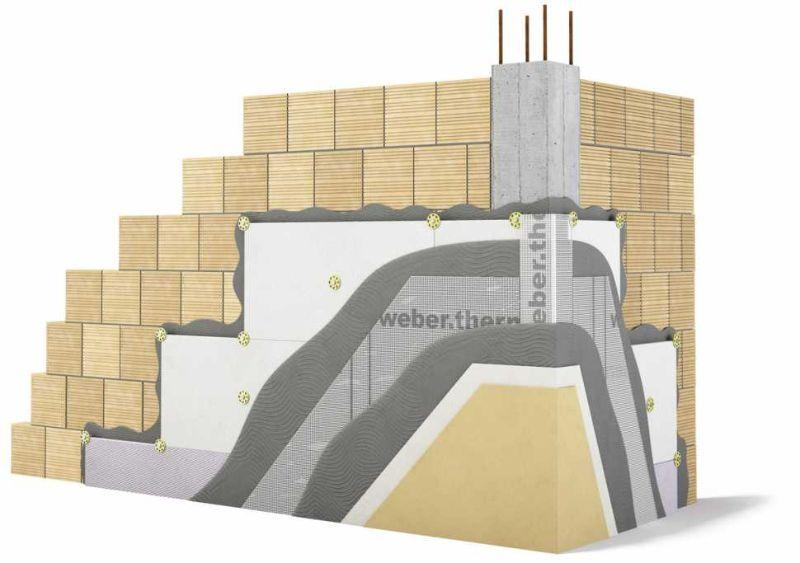 Isolamento termico con i pannelli w.therm family plus white