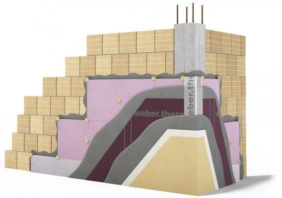 Isolamento termico con w.therm plus ultra