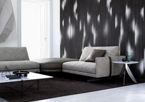 Dettaglio divano componibile Berto