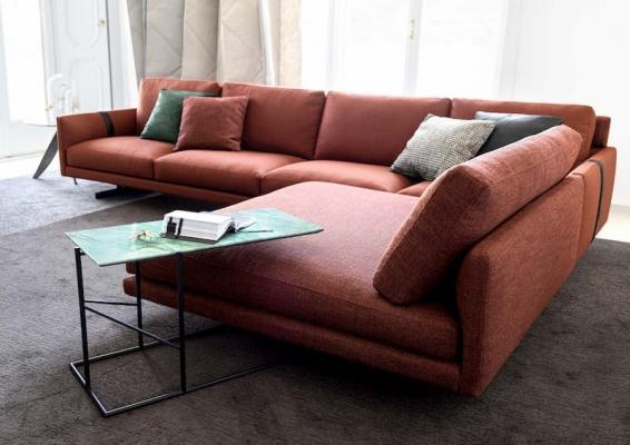 Ambientazione divano componibile