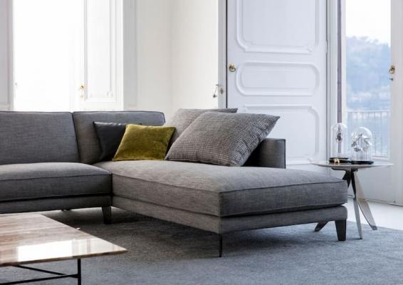 Chaise longue divano componibile time Break tessuto
