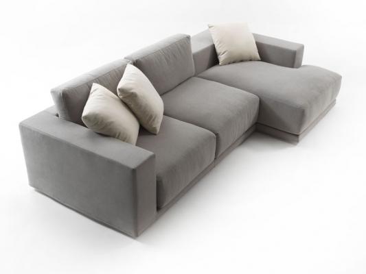 Divano angolare Relax Square di Santambrogio divani
