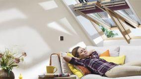 Lucernari e finestre per tetti