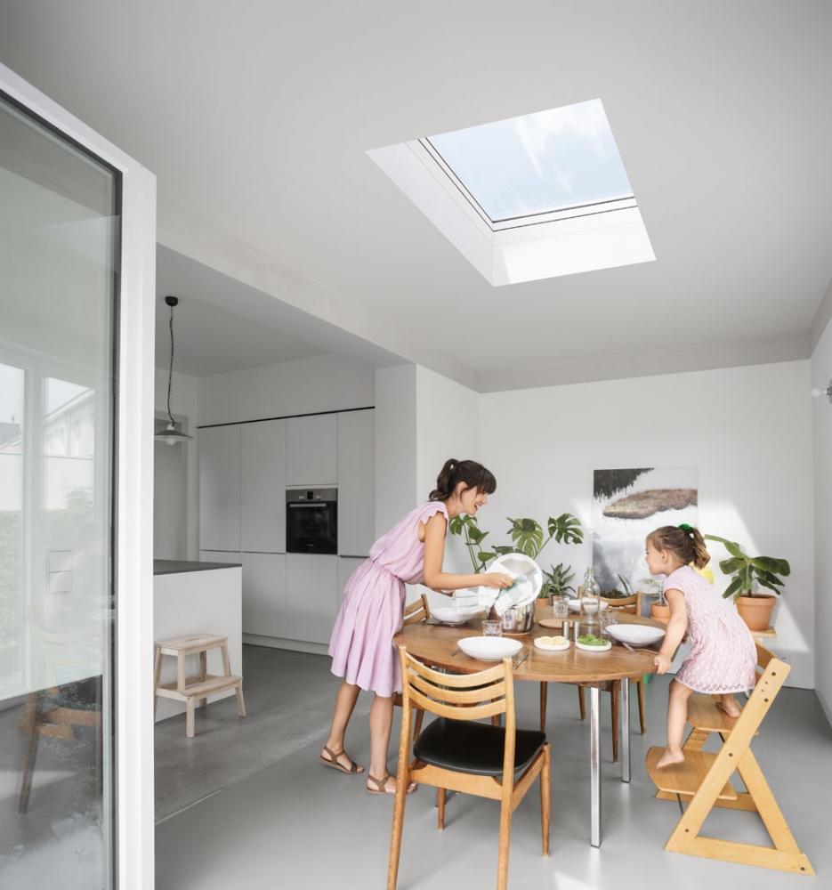 Foto lucernari e finestre per tetti for Finestre velux foto