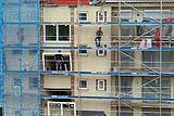 Lavori di rifacimento facciata