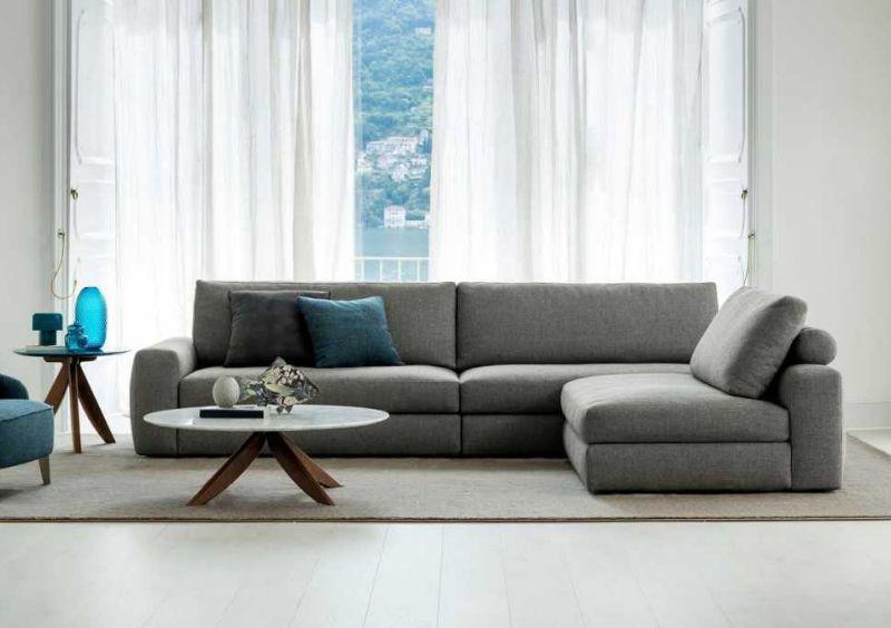 Sedute per divani, divano grigio di BertO