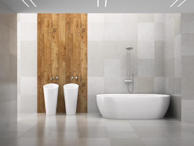 Piastrelle per il bagno novit - Design bagno piastrelle ...