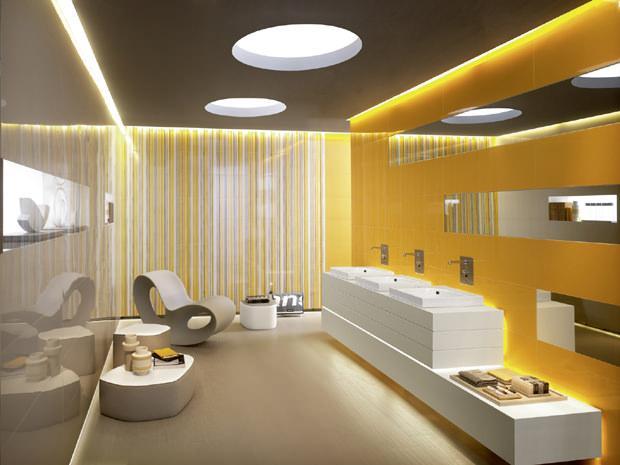 Piastrelle bagno colorate stunning bagni moderni con mosaico foto