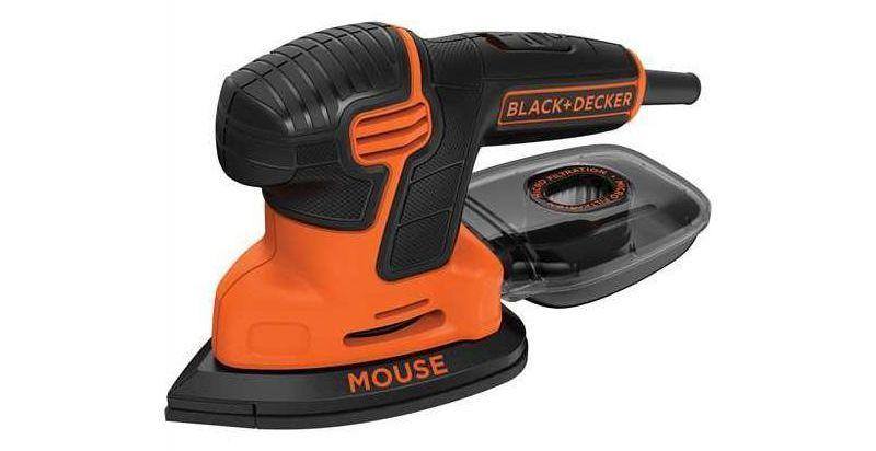 Levigatrice per legno, multiuso Mouse, by BLACK+DECKER