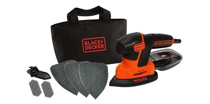 Kit levigatrice Mouse di BLACK+DECKER