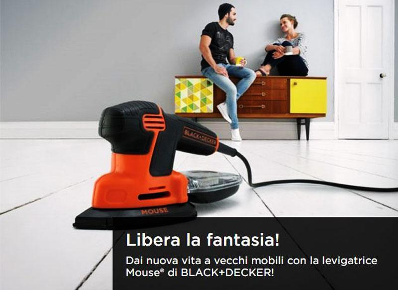 Levigatrice Mouse di BLACK+DECKER