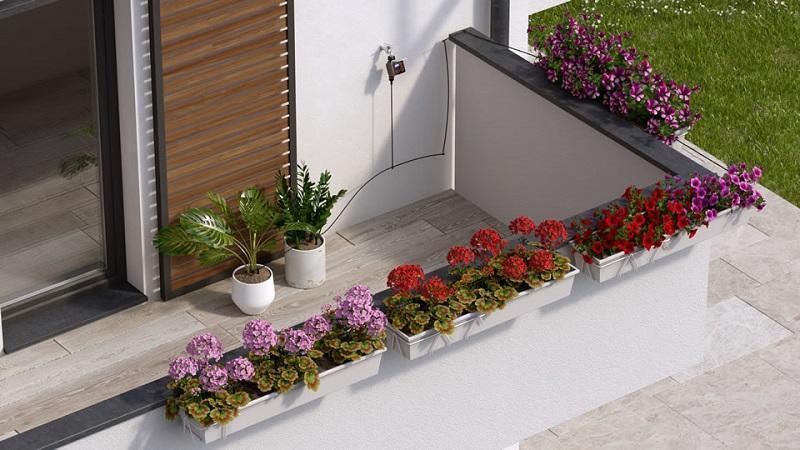 Idee terrazzo e balcone fiorito