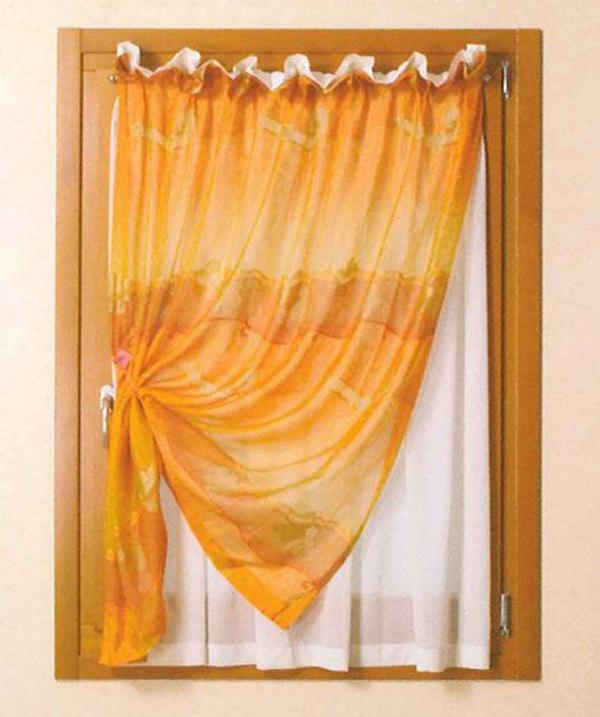 Tenda a vetro doppio tendaggio - Lamapla