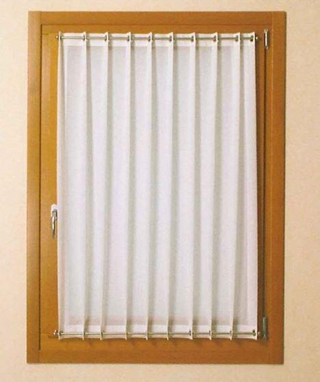 Tenda a vetro bianca - Lamapla