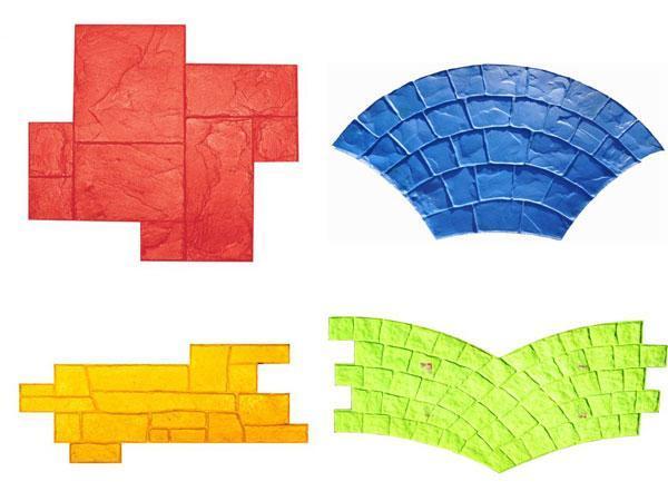 Stampini per cemento stampato, by Design Systems Srl
