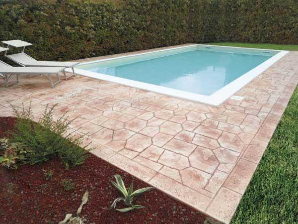 Pavimentazione bordo piscina by Isoplam srl
