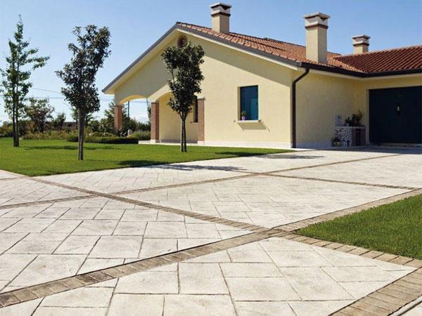 Ideal Work Srl per pavimenti in cemento stampato