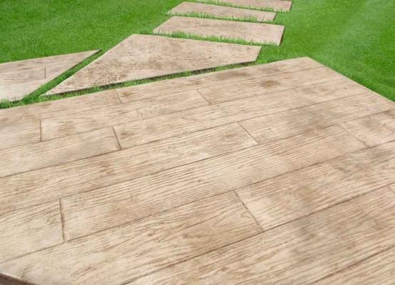 Pavimento stampato legno di Isoplam srl