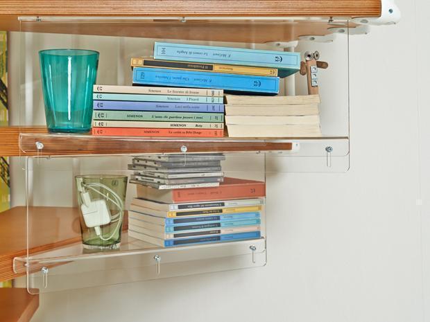 Mensola per scala a chiocciola Shelfy-y di Fontanot