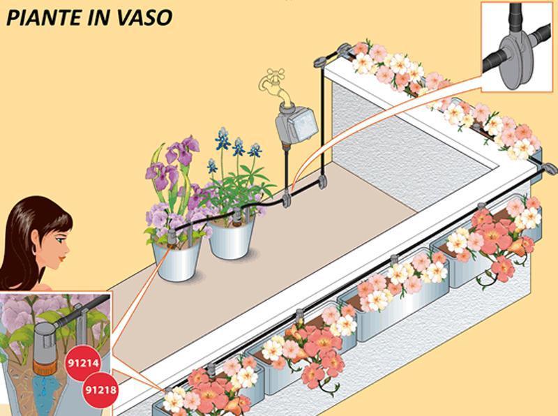 Come annaffiare le piante in vacanza