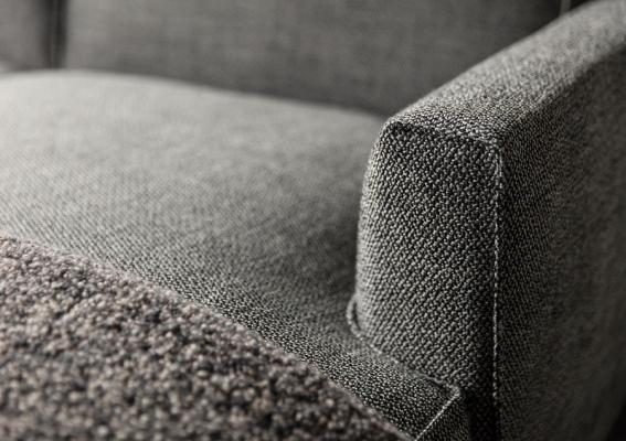 Bracciolo del divano componibile su misura Ribot