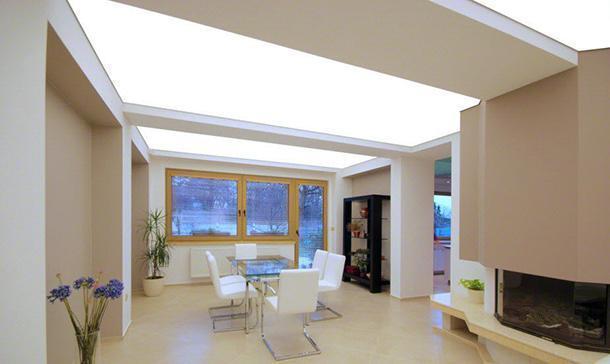Pannelli retroilluminanti a soffitto, by Barrisol