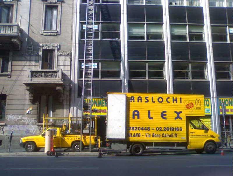 Traslocare con Alex Traslochi