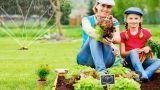 Coltivazione e irrigazione dell'orto