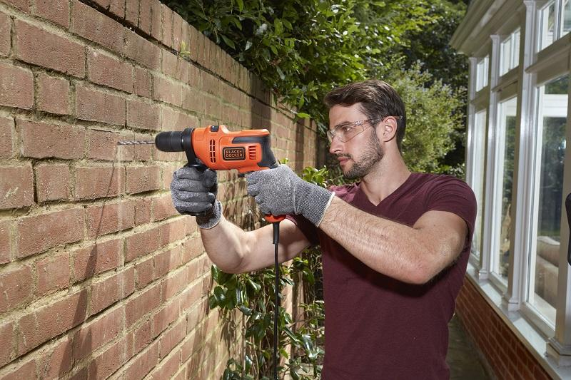 Use of the DIY drill