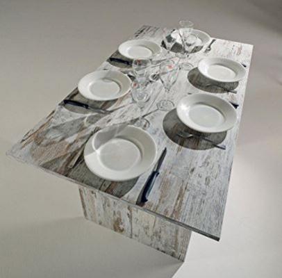 Rinnovare il soggiorno di casa con il tavolo consolle Inside Rustico aperto