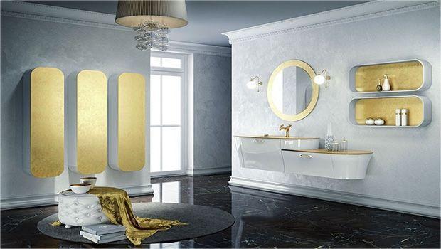 Tante idee e soluzioni originali per l'arredo di un bagno contemporaneo