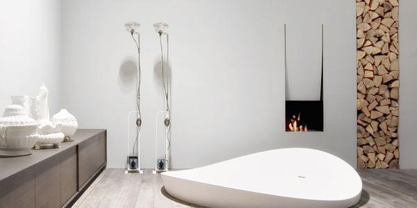 Camino da bagno: Canto del fuoco di Antonio Lupi