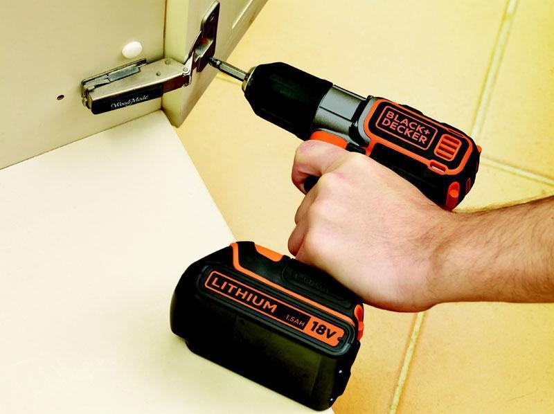 Trapano pronto all'uso Black+Decker