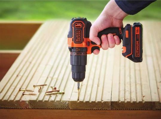 Trapano con batteria al litio Black+Decker
