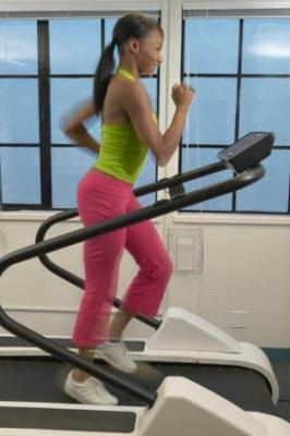 Attività fisica su tapis roulant