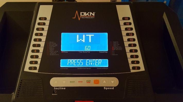 Tapis roulant usato in vendita su Ebay modello elettrico Run Tech DKN