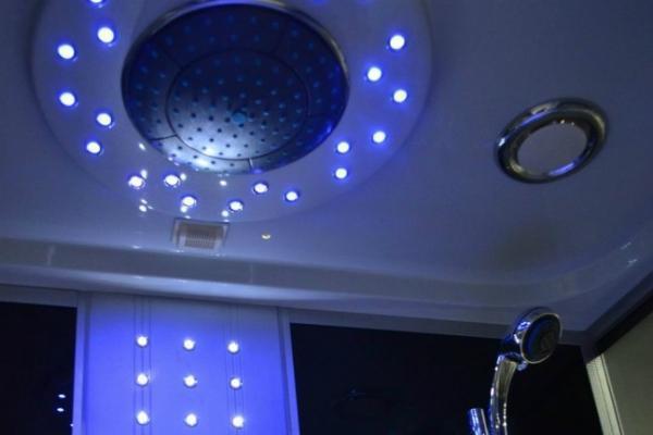 Cabina doccia Bagno Italia con luci led
