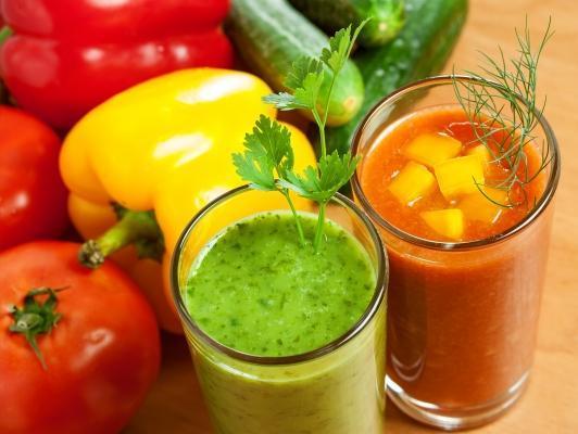 Estrattore per realizzare succhi di verdure