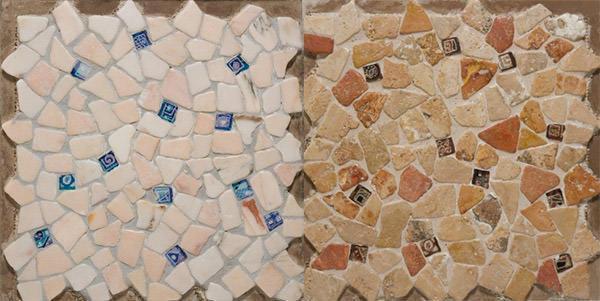 Pavimenti in marmo alla palladiana de I Ciottoli di Marmo