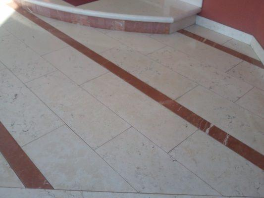 Pavimento esterno in marmo by Marmi ZEM