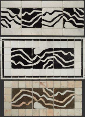 Rivestimento parietale in stile contemporaneo de I Ciottoli di Marmo