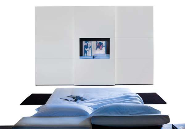 Armadio camera da letto Screen Tv di Mobilform