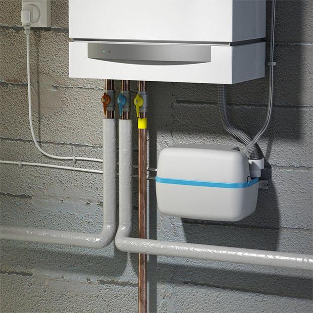 SaniCondens - Pompa di scarico per la condensa delle caldaie e dei condizionatori