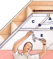 Isolare il soffitto con pannelli isolanti