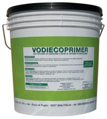 Isolamento muri di fondazione: primer bituminoso Vodiecoprimer  prodotto da Vodichem