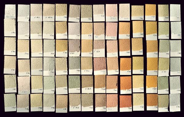 Colori finitura DUO Concept di La calce del Brenta s.r.l.
