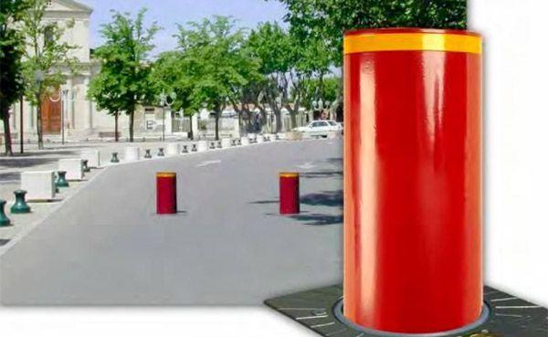 Dissuasore Cylinder rosso di Urbaco